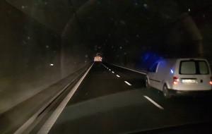 Awaria oświetlenia w tunelu pod Martwą Wisłą