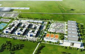 Park biurowy przy lotnisku będzie znacznie większy