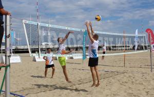 Falkiewicz wygrał siatkarskie turnieje plażówki przy molo