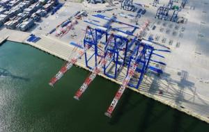 Drugie nabrzeże DCT będzie gotowe już w październiku