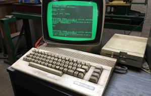 Warsztat samochodowy zasłynął dzięki 26-letniemu komputerowi Commodore