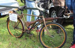 Pokaz aut wygrał... rower
