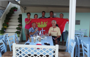 Flaga Gdańska odnaleziona w Grecji na dnie morza