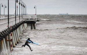 Surferzy z Gdańska zagrali w filmie