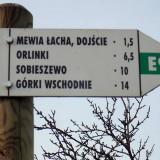 Pieszy szlak Wyspy Sobieszewskiej