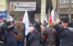 Antyrządowe protesty w Trójmieście