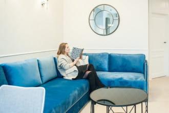Jak oni mieszkają: sopockie mieszkanie w stylu Hampton