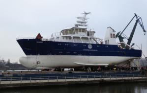 Statek Skagerak od środka