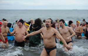 Powitaj Nowy Rok w wodzie razem z morsami