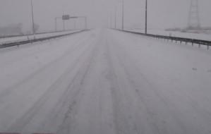 Obwodnica bez ciężarówek przy śnieżycy?