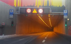 Policja wyraziła zgodę. W tunelu będzie można jechać 70 km/h