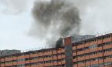 Paliło się mieszkanie w falowcu na Przymorzu