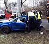 Kobieta i małe dziecko ranni w wypadku w Gdyni