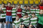 Młodzi piłkarze rozegrali w hali 70 meczów