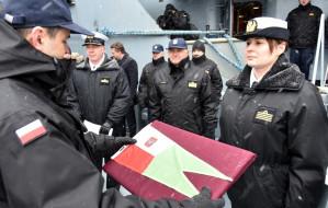 Pierwsza kobieta-dowódca zespołu okrętów w Marynarce Wojennej
