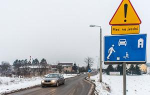 Sypią się mandaty na Osowej. Kierowcy ignorują znak