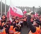 Drugi dzień protestów w Lotos Kolej