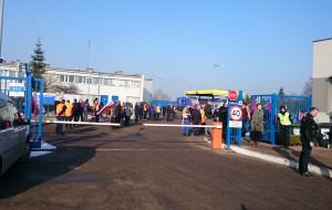 Pracownicy Lotos Kolej protestują w obronie dyrektora