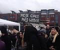 Demonstracja kobiet w Gdańsku