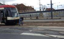 Problem z przejazdem tramwajów na Hucisku
