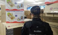 Skonfiskowali akcesoria dla dzieci za niemal milion złotych