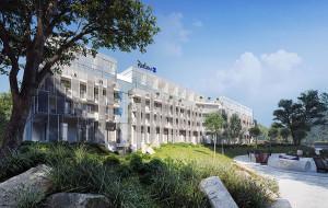 Hotel przy Bitwy pod Płowcami pod marką Radisson Blu