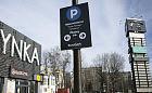 Płatny parking przy centrum handlowym na Zaspie