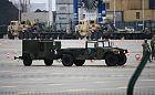Sprzęt wojskowy NATO w terminalu DCT