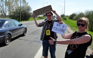 Weź udział w autostopowym wyścigu do Barcelony