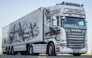 Brytyjscy policjanci zachwyceni polską ciężarówką