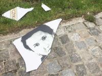 """Zniszczono tablicę przy pomniku """"Inki"""""""