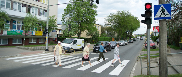 Jachimek o urokach bycia kierowcą i o pieszych na drodze