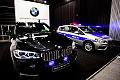 Opancerzone BMW za milion zł na gdańskich targach