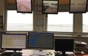 Z kamerą w gdańskim kapitanacie portu