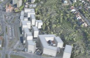Korekta wizji dla nowego centrum Siedlec