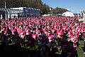 Różowa fala kobiet na Bulwarze Nadmorskim
