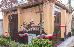Patriotyczno-militarny mural Energi w Sopocie. Urzędnicy: powstał bez zezwolenia