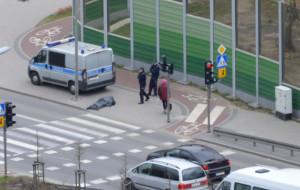 Policjanci przypomnieli kierowcom o pieszych