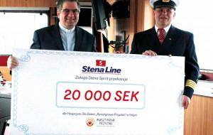 Marynarze oddali swoją nagrodę hospicjum