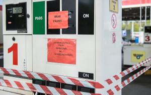 Spółka GAiT zamknęła stację paliw, bo nie miała koncesji na sprzedaż alkoholu