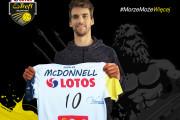 Daniel McDonnell nowym środkowym