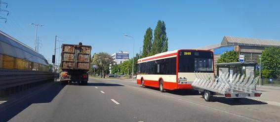 Przyczepka na rowery niebawem wjedzie do tunelu pod Martwą Wisłą