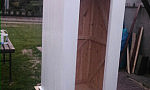 Na Westerplatte stanie replika przedwojennej budki wartowniczej