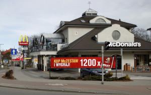 Zniszczył kasę samoobsługową w McDonaldzie