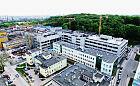Centrum Medycyny Nieinwazyjnej z lotu ptaka. Zobacz, jak budują nowoczesny szpital