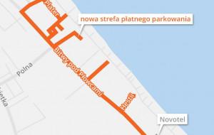 Sopot zwiększa strefę płatnego parkowania