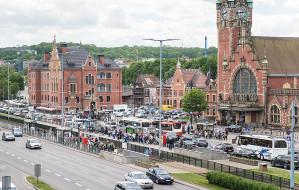 Powstanie naziemne przejście przy dworcu w centrum Gdańska