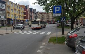 Buspas zniknął, bo samochody blokowały autobusy