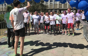 Studenci Politechniki Gdańskiej pobiegli dla chorych dzieci