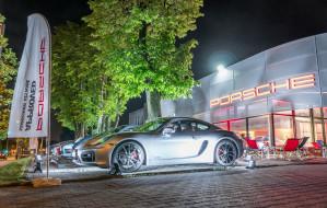 Salon używanych Porsche oficjalnie otwarty